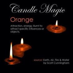 Orange Candle Magick – Witches Of The Craft® Wiccan Spell Book, Witch Spell, Spell Books, Wiccan Books, Magick Spells, Candle Spells, Hoodoo Spells, Candle Meaning, Color Magic