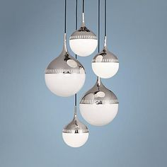 Change The Cord Lengths On This 5 Light, Jonathan Adler Designed Globe  Chandelier
