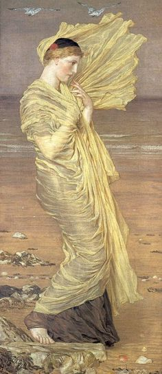 Moore, Albert Joseph - Seagulls, 1870