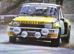 Jean Ragnotti - Jean-Marc Andrie 49º Rallye Monte-Carlo 1981. Renault 5 Turbo (Gr.4). Clasificado 1º. El Rally constaba de un recorrido total de 3930 km, de los que 757 km divididos en 32 etapas, eran especiales. Tomaron la salida 263 participantes, finalizaron 83. #Rally #Gr4 #Renault