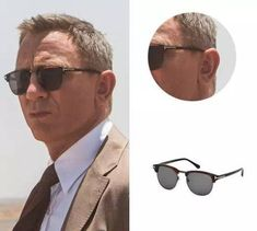 59a2710976 eBay  Sponsored James Bond Spectre 007 Tom Ford Henry TF 248 52a Havana  Sunglasses Grey