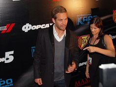 Paul at FF5 Premiere Moscow April 2011