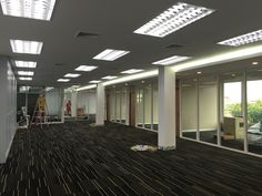 Office renovated