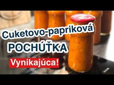 Barbecue, Salsa, Food And Drink, Jar, Drinks, Youtube, Red Peppers, Drinking, Beverages