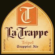 """La Trappe Tripel  A rich, brassy golden in color and sporting a slightly off-white foam, La Trappe Tripel is the hoppiest of the La Trappe range, displaying a beautiful balance of hoppy bitterness and full malt flavor. You will notice spices, fruit and hops in the nose. On the palate Tripel is slightly bitter, spicy and refreshing.  The style """"Tripel"""" generally means a beer that is golden in color and strong. Like most Belgian or Benelux ales, it's also bottle conditioned (as are all…"""