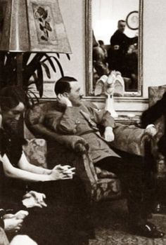 Adolf Hitler at the Berghof.