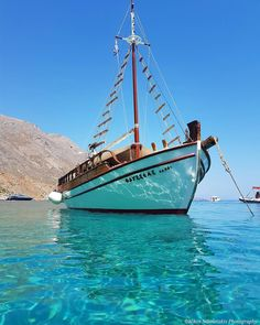 """Chania: The amazing crystal clear waters in the picturesque """"Loutro"""". I miss those days... Happy weekend!"""