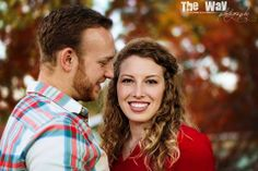 Love is in the fall air! :) Sweet couple portraits. #TheWayPhotography #photography #love #fall #couple