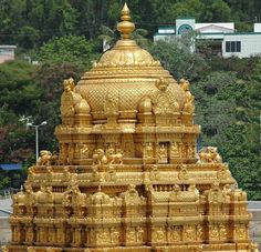 Andhra Pradesh Temples – Temples of South India Indian Temple Architecture, Historical Architecture, Beautiful Architecture, Venkateswara Temple, Hindu Temple, Different Architectural Styles, Simple Oil Painting, Lord Vishnu Wallpapers, Fall Wallpaper