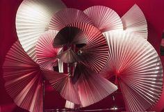 sarah illenberger + le printemps anniversary windows + fans + pink