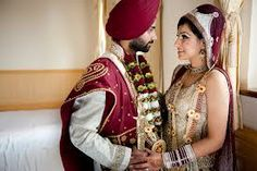 The wedding Ceremony for Sikhs is known as Anand Karaj, The wedding typically happens throughout daytime. In the vicinity of the blessed book, the husband to be and the spouse takes promises to impart obligations and obligations as husband and wife.