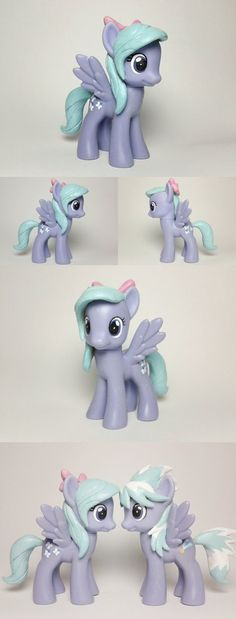 I forgot to say please use a spray varnish or other clear protective coat on the hair before attaching to make it glossy and avoid scratches This is a simple walk through of how I made my rarity wi...