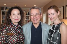 Portland Chamber Music Festival Executive Director Alice Kornhauser is joined by Host Committee members Larry Rubinstein of Scarborough and Claire Hammen of Portland at the  23rd annual Spring Benefit.