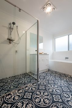 Thinking of doing a feature wall? Why not try a feature floor!
