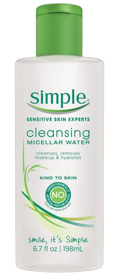 Simple Cleansing Micellar Water #influenster #contest