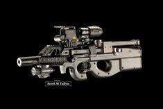 GunShots Photography: FNH PS-90 Bullpup
