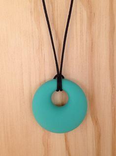 Single Pendant Necklace Turquoise, $15.00