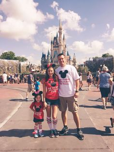 Disney Mother Daughter Trip Matching Minnie Mouse