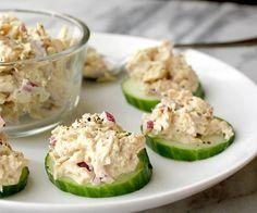 Tonijnsalade met zelfgemaakte mayonaise
