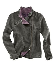 Look what I found on #zulily! Heather Gray Metro Wool-Blend Sweater by Title Nine #zulilyfinds