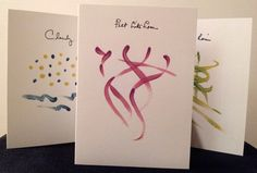 """September three-card special for $11!  Looking for a card to convey that cozy, romantic mood on these cool September days? Try these: """"It Felt Like Love,"""" """"Cloudy With a Chance Of..."""" and """"Me, You and the Rain."""" Log onto mariesmusings.com, to read card contents."""