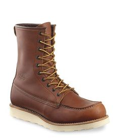 When I was young, everyone in my family had Red Wing hiking boots for out trips up to Northern Michigan.