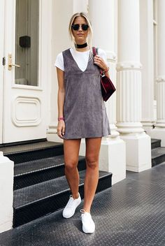 awesome spring outfit, summer outfit, fall outfit, casual outfit, sneakers outfit, comfy...