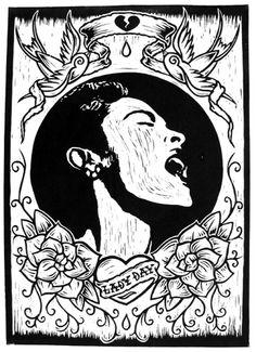 Chris Bourke - Lady Day by Chris Bourke, via Flickr