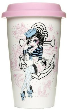 Sailors Ruin Tumbler by Sourpuss Clothing