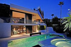pool design | ... Design & Architecture Exterior - Pool | Modern House Plans Designs