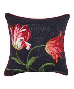 "Another great find on #zulily! Historie Naturelle 16"" Pillow #zulilyfinds"