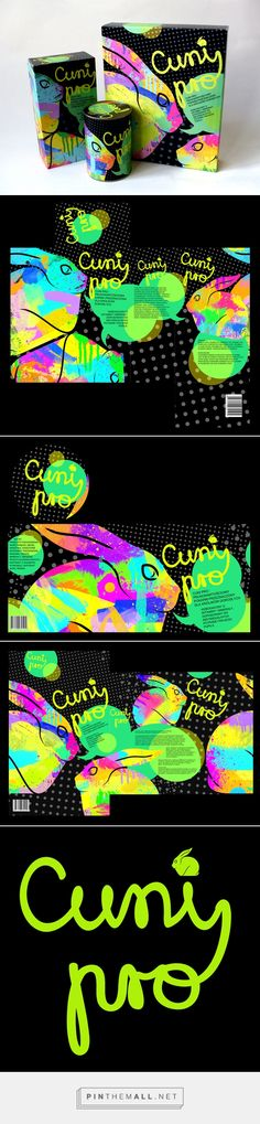 Cuni on Behance by H 7 makes you want to go out and get some rabbits because of the packaging curated by Packaging Diva PD