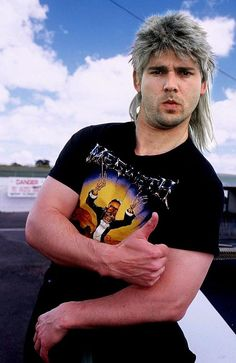 "Eric Bana as Poida on Aussie tv show, ""Full Frontal"" before he was famous."