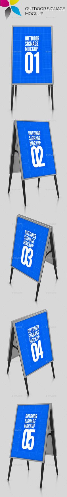 Outdoor Signage Mockup
