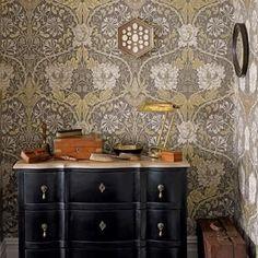William Morris Honeysuckle & Tulip Tapet