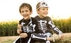 Disfraz casero de esqueleto para un Halloween de miedo - Especial Halloween 2014 - Especiales - Charhadas.com