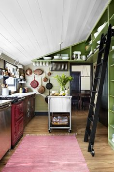 Floor-to-Ceiling Shelves