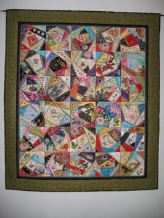 My Flora and Fauna crazy quilt