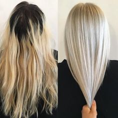 Terra Shapiro (@terrashapiro_atjuansalon) in Sherman Oaks, California, specializes in blondes and color correction. When we saw this correction on Instagram we had to know more. Here Shapiro shares the how-to for this amazing makeover