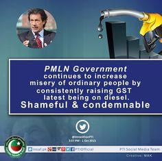 Chairman Imran Khan's remarks on increase in General Sales Tax on Diesel