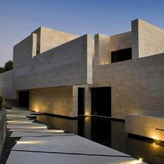 A luxurious and modern designed family house in Marbella, Spain. Designed by A-cero, Joaquin Torres Arquitectos. Minimalist Architecture, Modern Architecture House, Residential Architecture, Amazing Architecture, Architecture Design, Concrete Architecture, Spanish Architecture, Modern Houses, Minimalist Interior