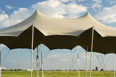 With it's natural, organic form, the flex tent blends in with it's surroundings.