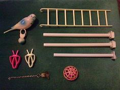 Accessories for a Bird Cage