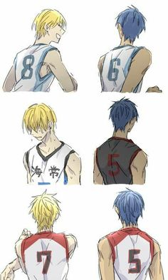 I think my heart just broke - Aokise - Aomine Daiki - Kise Ryōuta - Aomine x Kise - Kurobas - Kuroko no Basket