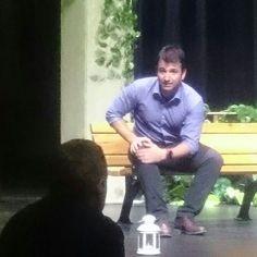 Hocamdan brief alirken☺ #director @tanererturkler #tiyatro #theatre #art #act #visual #arts #tiyatro #sahne #ckm #caddebostankulturmerkezi #lions #118y #oyuncu #aktor #stage #performans #nerdekalmistik #amphitryon #sossios #zeus #alkmene #performance #actor #happy #amateur #sanat #gorsel #mitoloji #tbt #throwbackthursday http://turkrazzi.com/ipost/1524892563088997448/?code=BUpgbT3jfxI