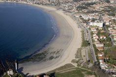 Praia América. Baiona - Nigrán. Pontevedra. Galicia. Spain.