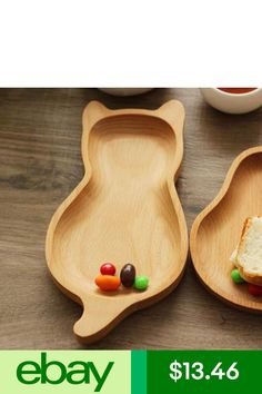 Dinnerware Plates Home, Furniture & DIY Kids Plates, Wood Cat, Wood Burning Art, Wood Spoon, Wooden Plates, Wood Bowls, Plate Sets, Wooden Diy, Wood Turning
