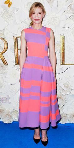 Cate Blanchett's Red Carpet Style - In Roksanda, 2015 - from InStyle.com