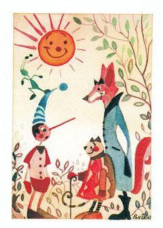 Pinocchio, Miss Piggy, Spirited Art, Art Base, Conte, Mythology, Fairy Tales, Decoupage, Literature