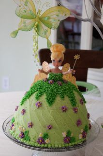 Delicately Sweet confections: A Tinkerbell Birthday Party